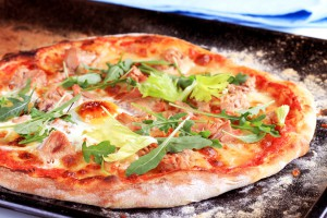 Pizza dough made with BROTZAUBER