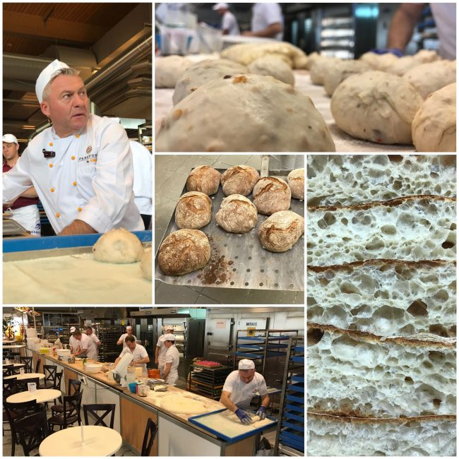 Knollmühle shows PANATURA application with Ciabatta bread on BÄKO fair