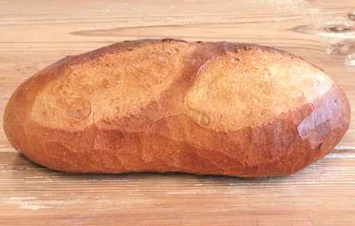 farmhouse bread made with BROTZAUBER